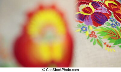 National Ukrainian embroidery
