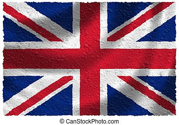 national, uni, kindom, drapeau
