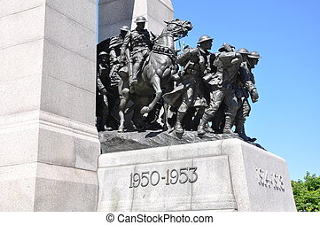 National War Memorial in Ottawa, Canada