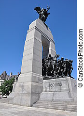 National War Memorial in Ottawa, Canada