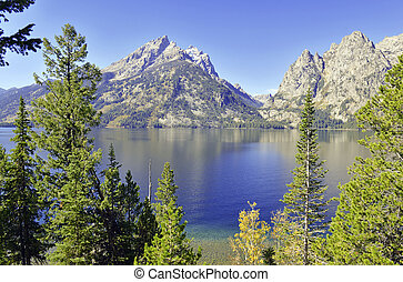 national,  Wyoming, Parc,  teton, Grandiose