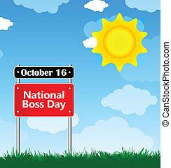 nationale, dag, baas