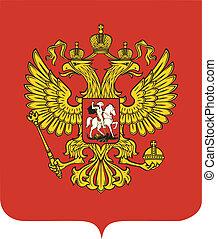 nationale emblem, rusland
