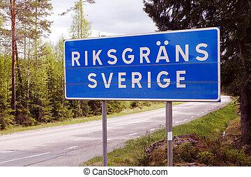 nationale grens, zweden