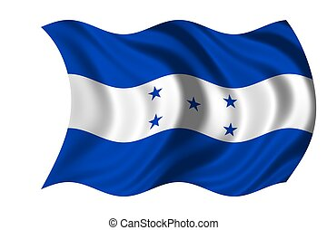 nationale, honduras vlag