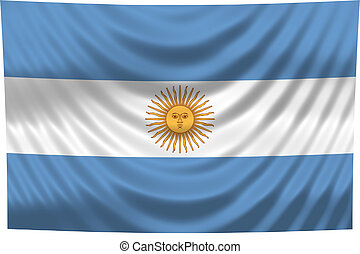 nationale vlag, argentinië