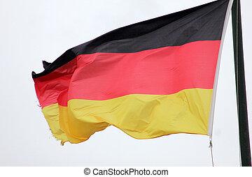 nationale vlag, van, duitsland