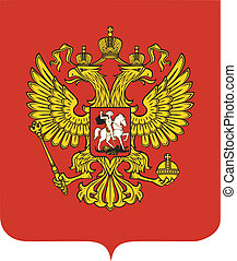 nationales emblem, russland