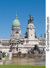 nationales kongreßgebäude, buenos aires, argentinien