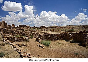 Native American Archeological Ruins