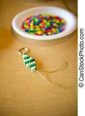 Native American Beadwork - Beads used to create jewelry by ...