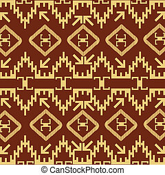 Native American decorative motives