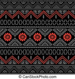 native american ethnic pattern