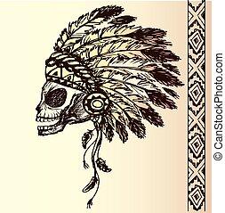 native american indian chief headdress
