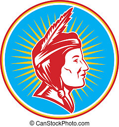 native american indian squaw