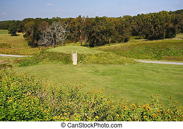 Native American Mound