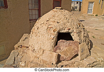 Native American Outdoor Oven - Native American outdoor oven...