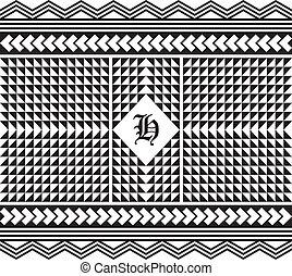 native american pattern vector graphic art illustration