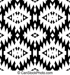 Native american pattern - Vector seamless ethnic pattern...