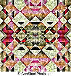 Native american traditional pattern - Native american...