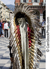 Photo of a native Americans