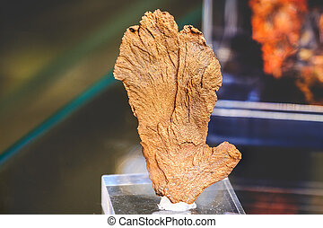 native copper mineral raw materials
