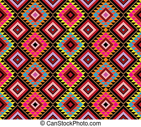 native pattern - American Native Pattern - vector seamless ...