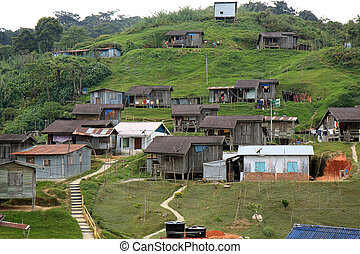 Native Village of Malaysia - A village of one of the native...