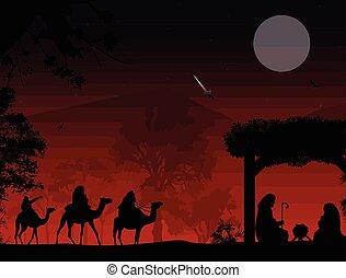 natividade, cena natal