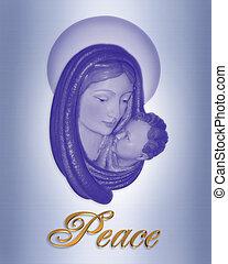 natividade, natal, paz