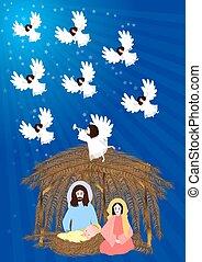nativity 場面