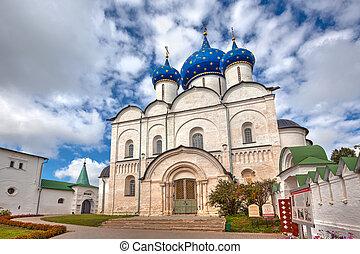 nativity, 大聖堂, virgin., suzdal, ロシア