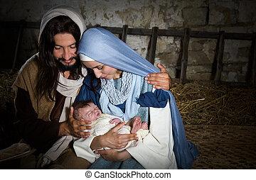 nativity, 納屋