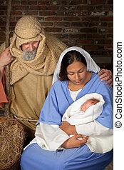 nativity, 親