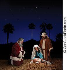 nativity, claus, クリスマス, santa