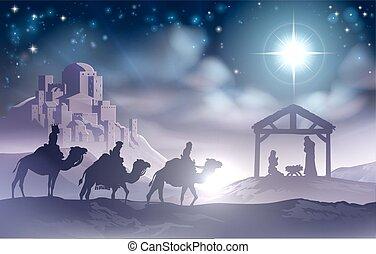 nativity scena