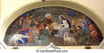 nativity táj