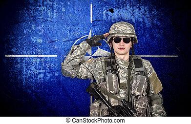 nato, żołnierz