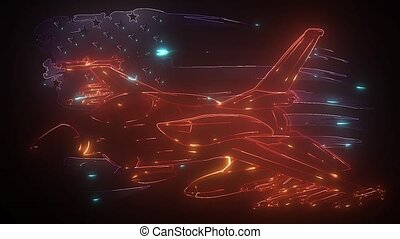 NATO fighter jet video animation - NATO fighter jet digital ...