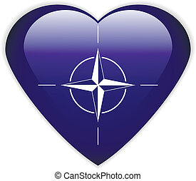 NATO flag button