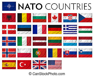 NATO memebr countries - NATO member countries isolated...