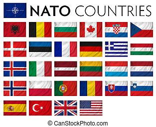 nato, memebr, országok