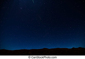 natt himmel