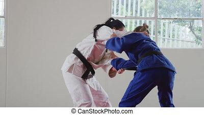 natte, judokas, randori, judo, formation