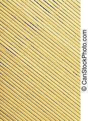 natte, modèle, diagonal, texture, surface, fond, bambou