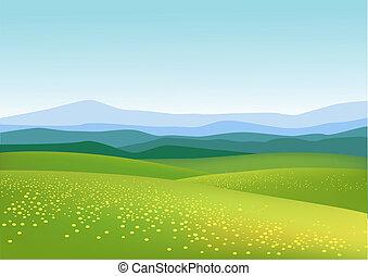 natur, baggrund