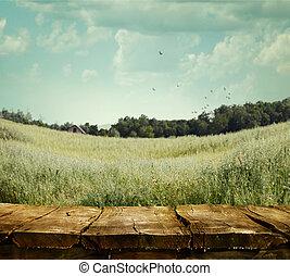 natur, bakgrund