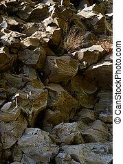 natur, hintergrund, steinen