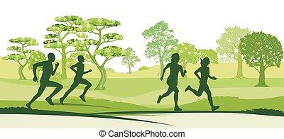 Natur-Lauf