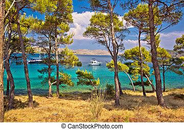 natura, destinazione, parco, baia, telascica, yachting
